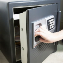 Wall safe for home